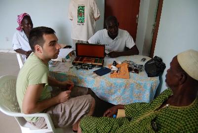 Ermengol Peña en Senegal