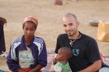 Tomás Kienast en Senegal
