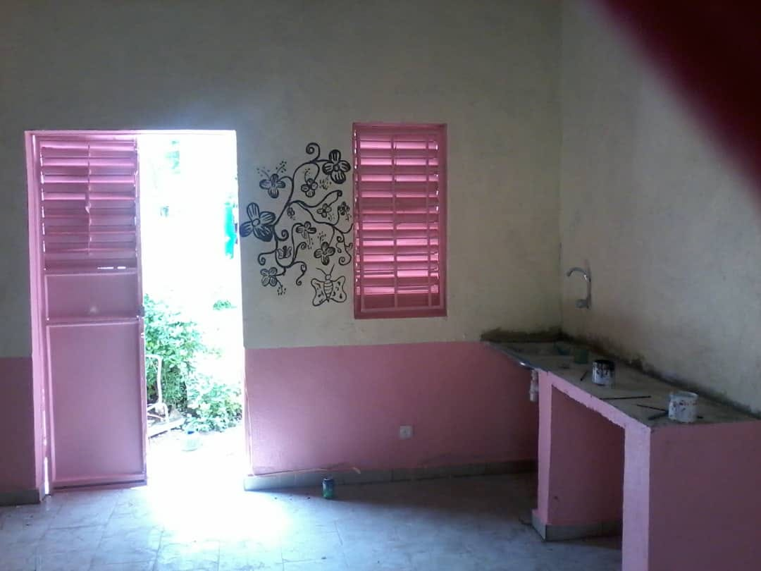 Edificio para niños desnutridos en Dalaba